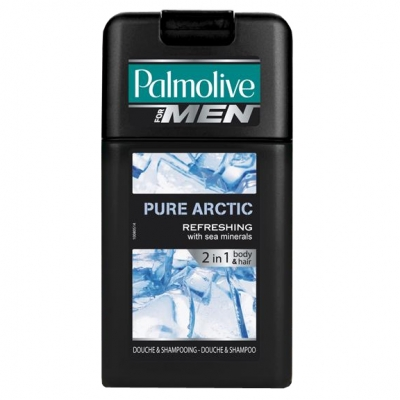 Palmolive for men 2 in 1 body & hair Pure Arctic