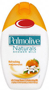 Palmolive shower gel orange and milk