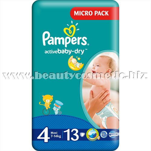 Pampers Active Baby 4 Maxi Simple Pack 13 броя