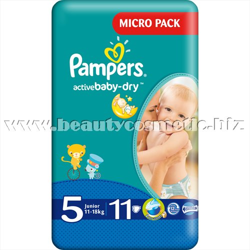Pampers Active Baby 5 Maxi Simple Pack 11 броя