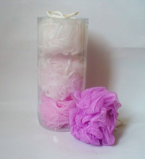 Sponge bath type ribbon