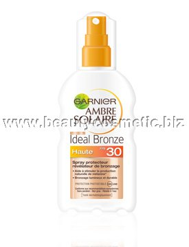 Garnier Ambre Solaire Ideal Bronze слънцезащитен спрей SPF 30