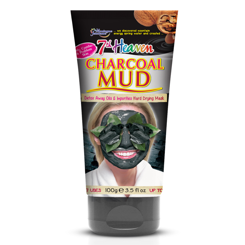 7th heaven charcoal mud mask 100ml