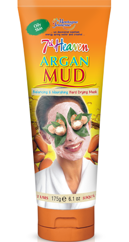 7th heaven face mask with Argan oil