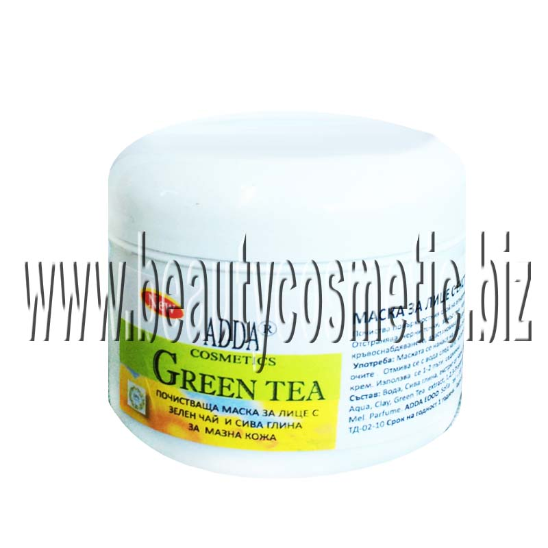 ADDA face mask with green tea extract
