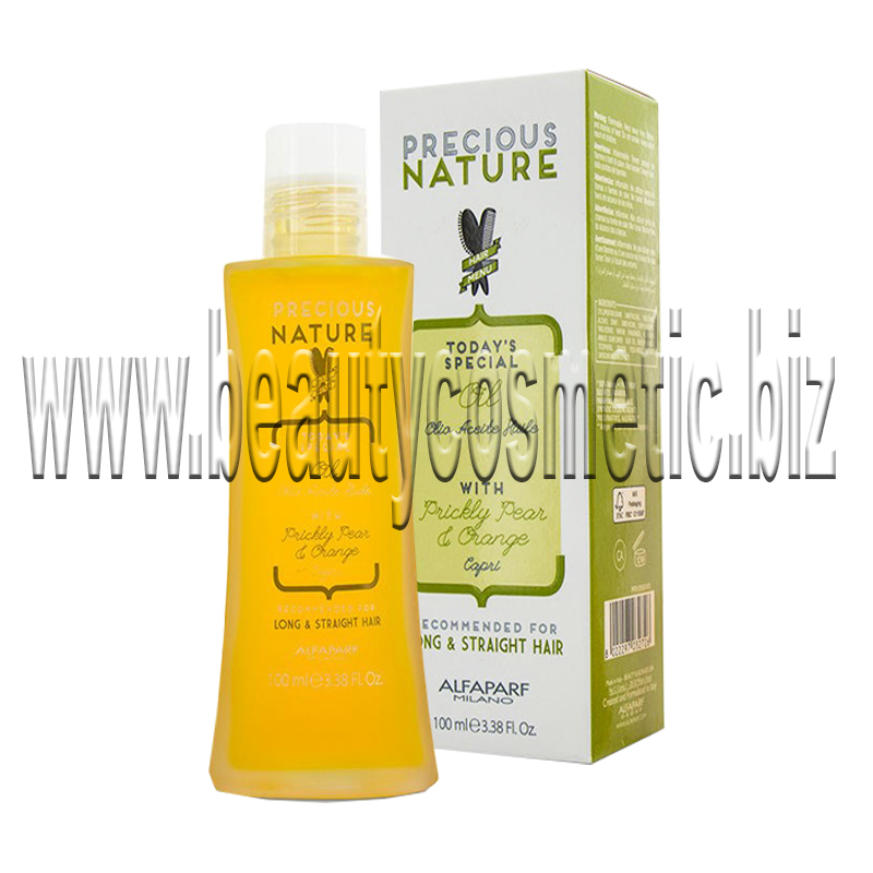 Alfaparf Precious Nature With Nutritional oil extract of Indian fig & orange