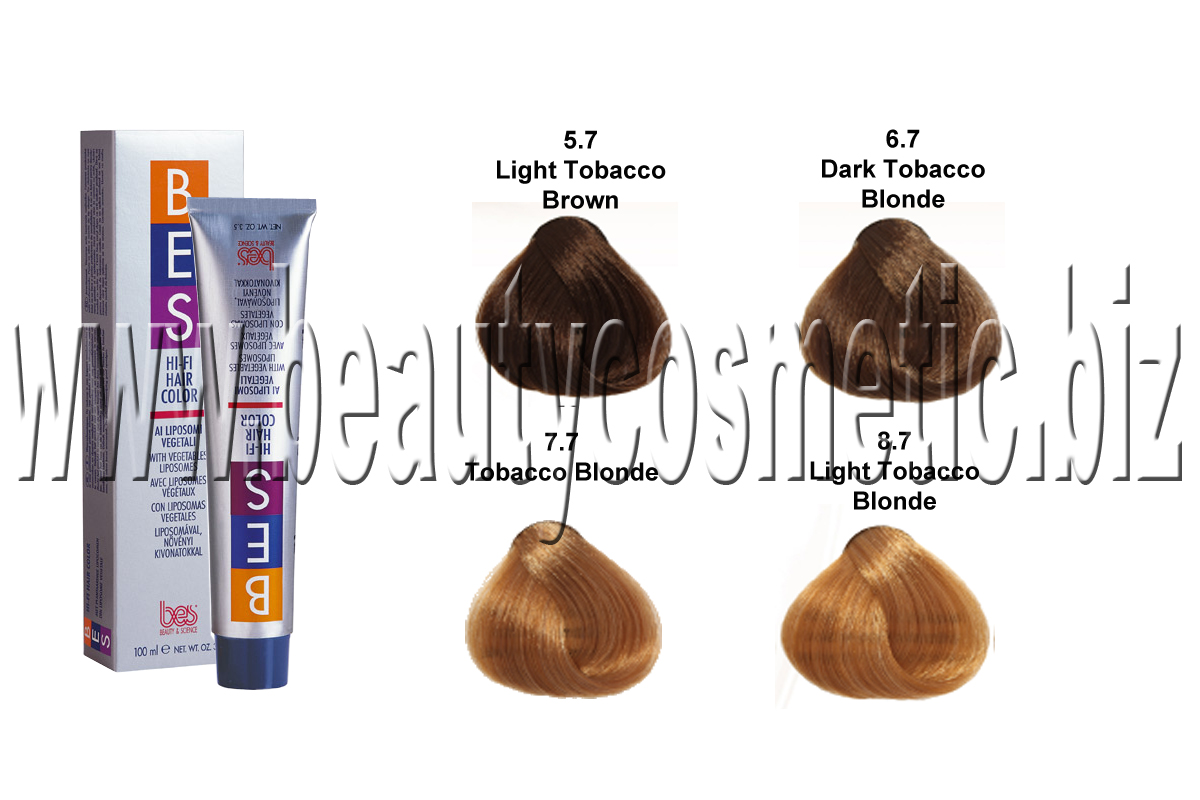 BES Hi-Fi Hair Color Tabacco боя за коса
