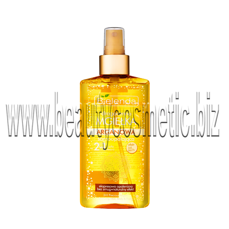 Bielenda SELF TANNING Argan oil for face and body