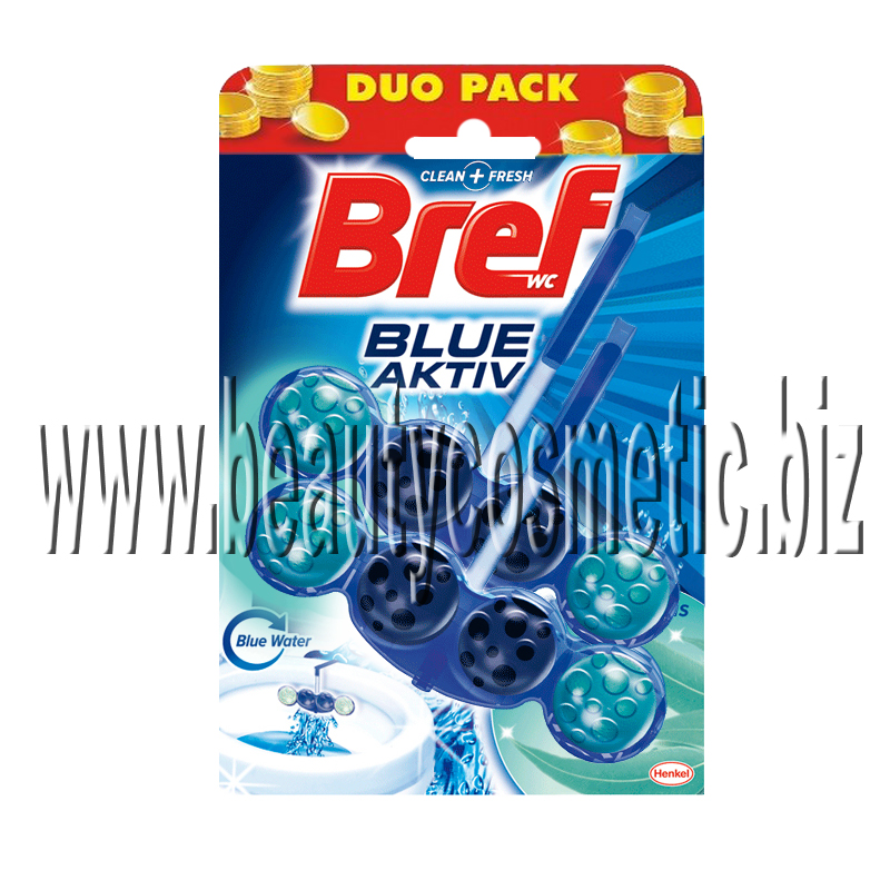Bref WC Blue Active duo pack aroma