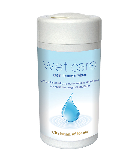Christian of Roma wet care stain remover wipes кърпички за петната по кожата