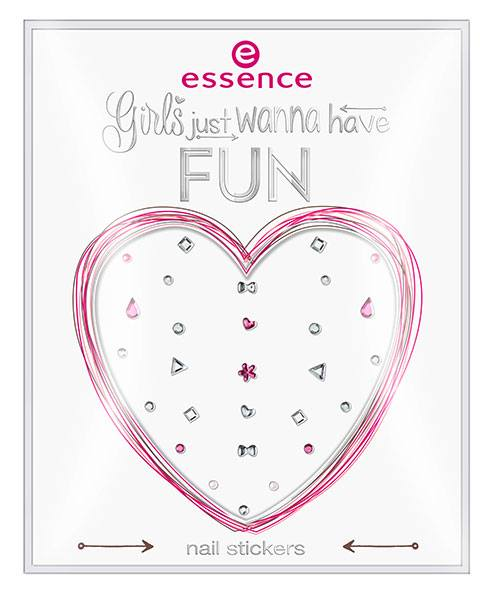 Essence girls just wanna have fun nail stickers