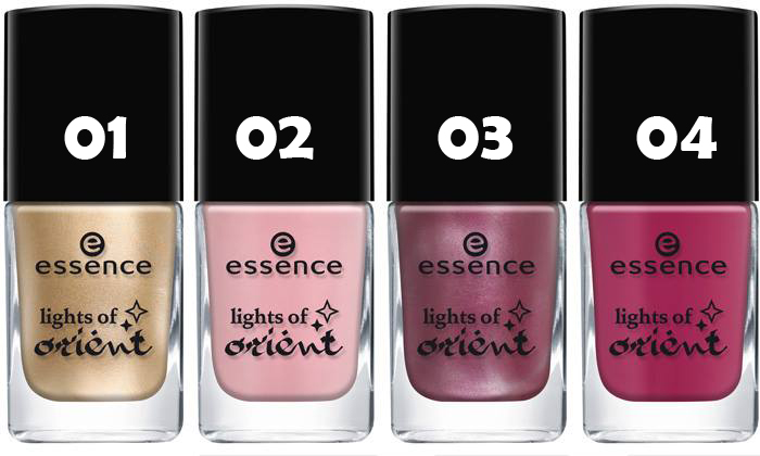 Essence lights of orient лак за нокти