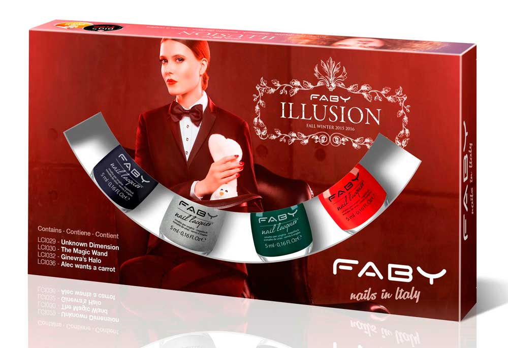 Faby Illusion Collection Fall Winter 2015 - 2016