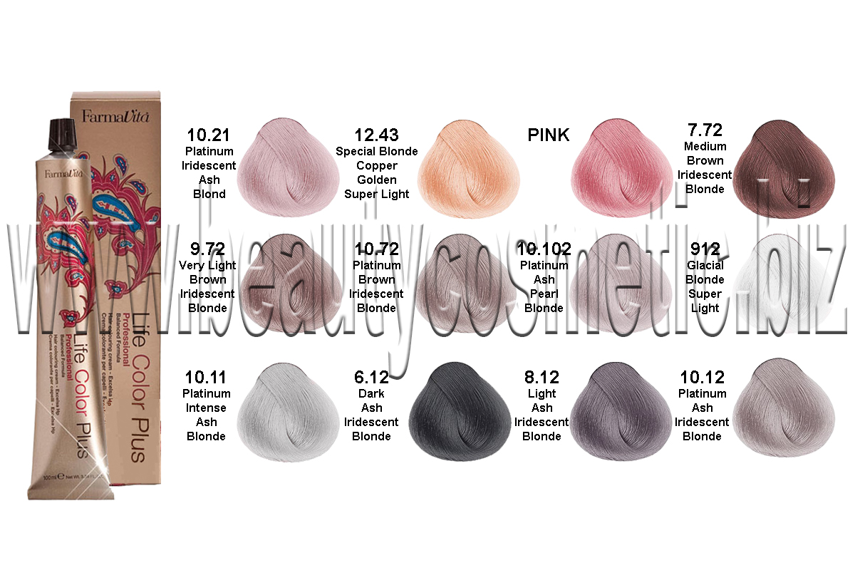 FarmaVita Mineral Shadows collection боя за коса
