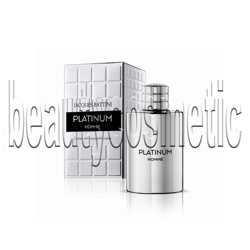 Jacques Battini Platinum Homme Swarovski Elements EDT 100ml