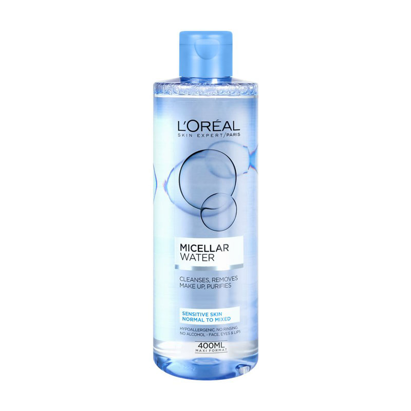 Loreal Cleansing micellar water for sensitive combination skin