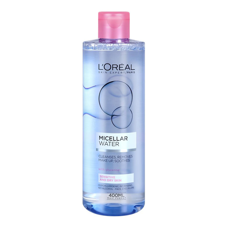 Loreal Soothing micellar water for normal to dry skin