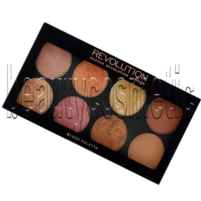 Makeup Revolution Golden Sugar 2 палитра ружове