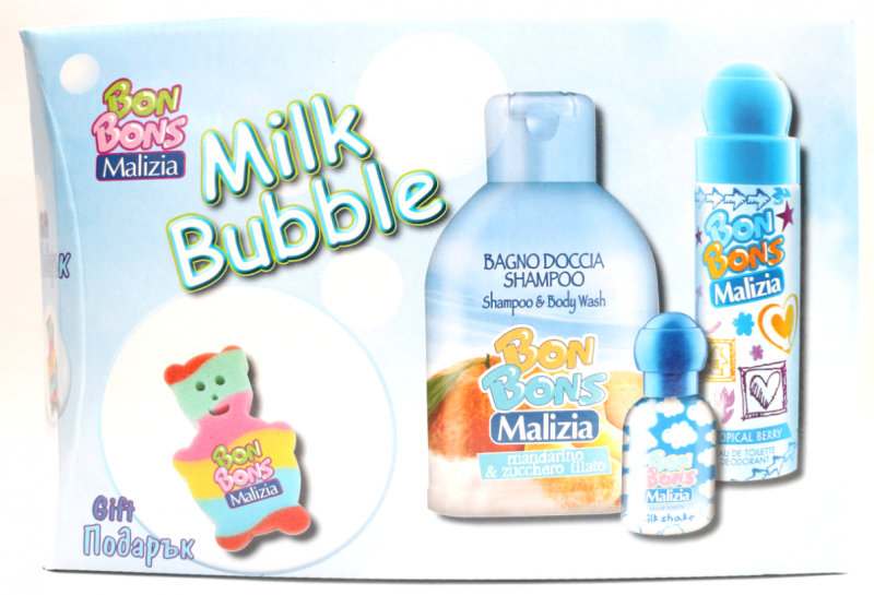 Malizia  Bon Bons Milk Bubble Gift Set