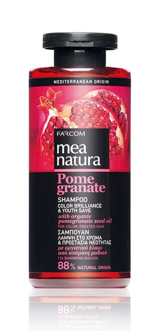 Mea natura Pomegranate шампоан Color Brilliance & Youth Save