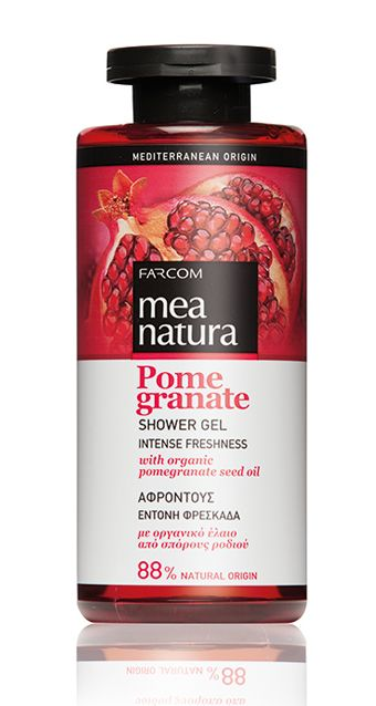 Mea natura Pomegranate shower gel
