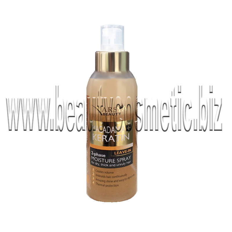 Narsya beauty Macadamia & Keratin biphasic spray conditioner