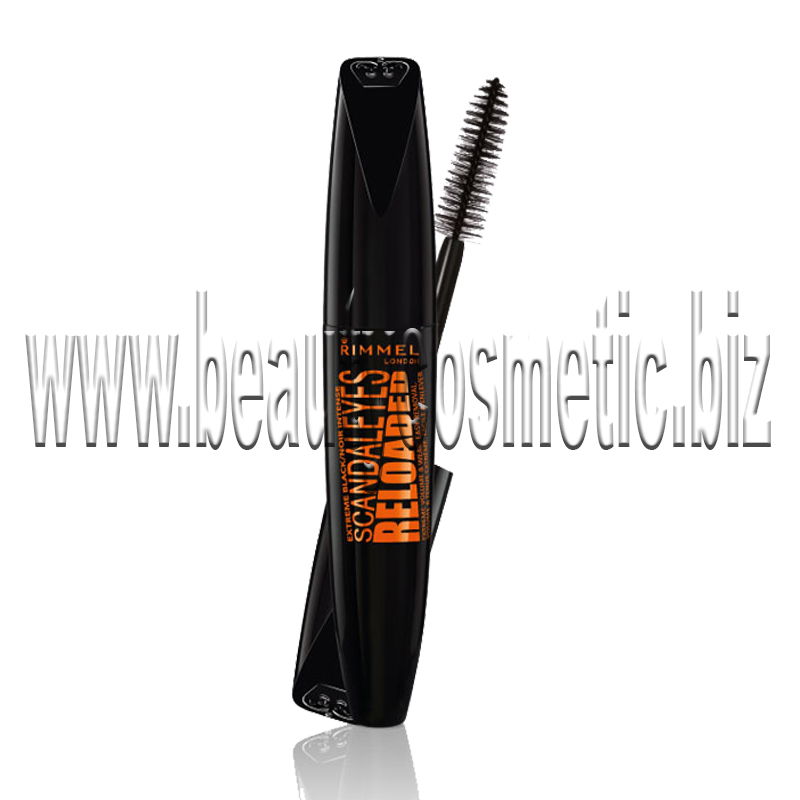 Rimmel  Reloaded Extreme black mascara