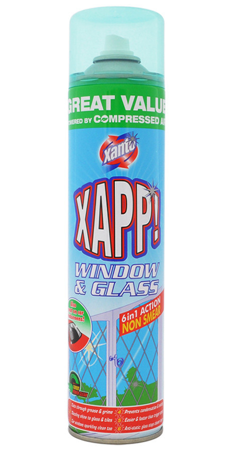 Xanto Power Active foaming cleanser Glass & Windows
