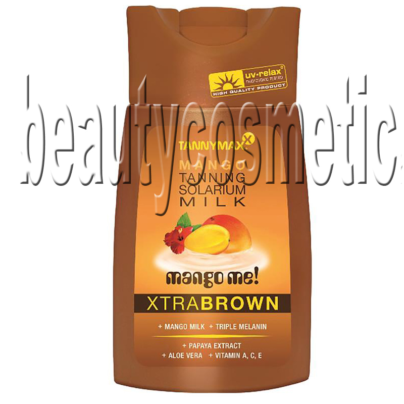 Tannymax Xtra Brown Mango Tanning Solarium Milk 200ml