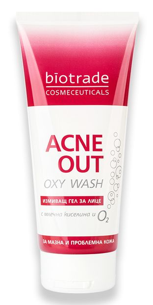 BioTrade Acne Out Oxy Wash измиващ гел