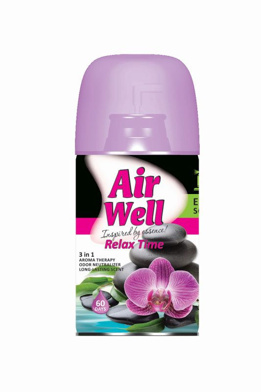 Agiva Air Well Relaxing time универсален ароматизатор 250ml