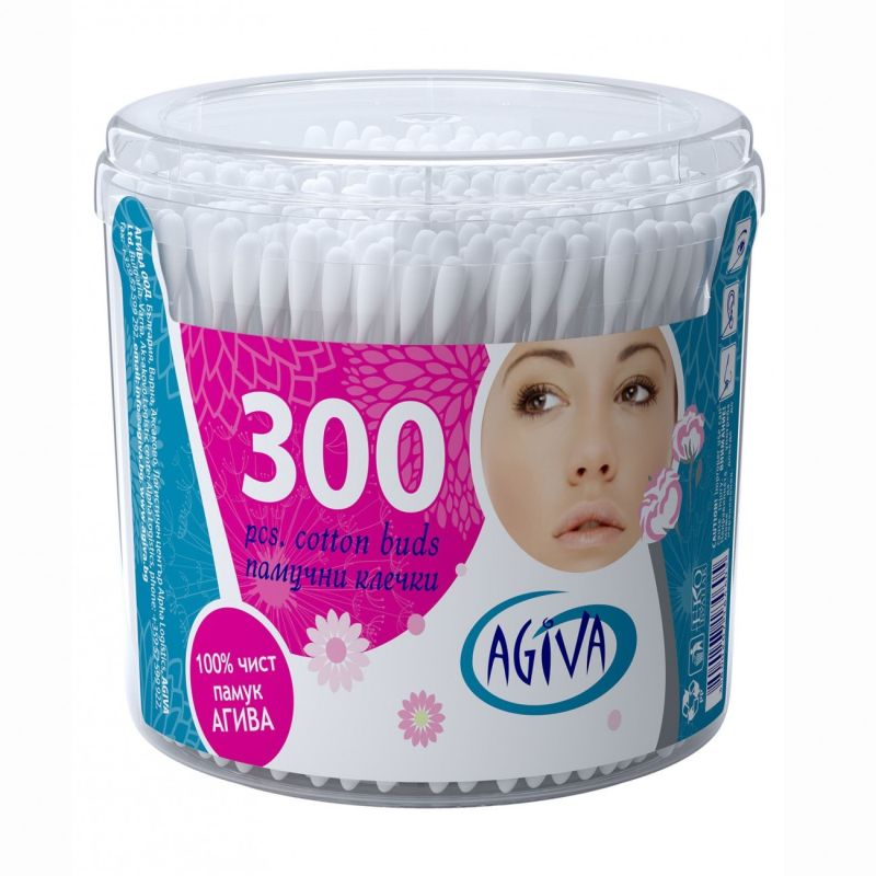 Agiva cotton buds 300 pcs