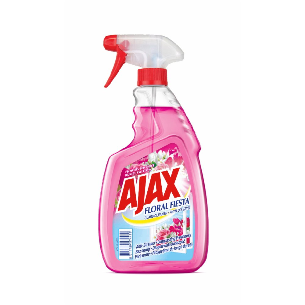 Ajax Floral Fiesta Spray windows