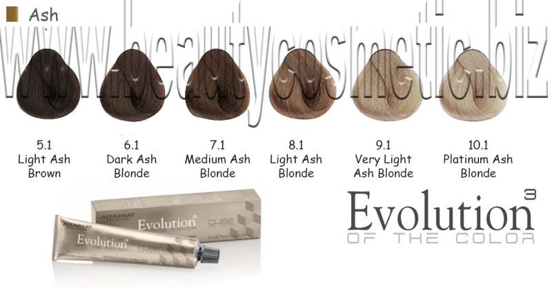 Alfaparf Evolution Ash Hair color with botox effect