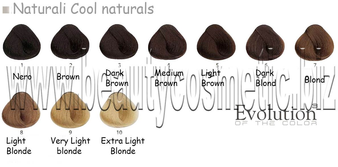 Alfaparf Evolution Cool naturals Hair color with botox effect