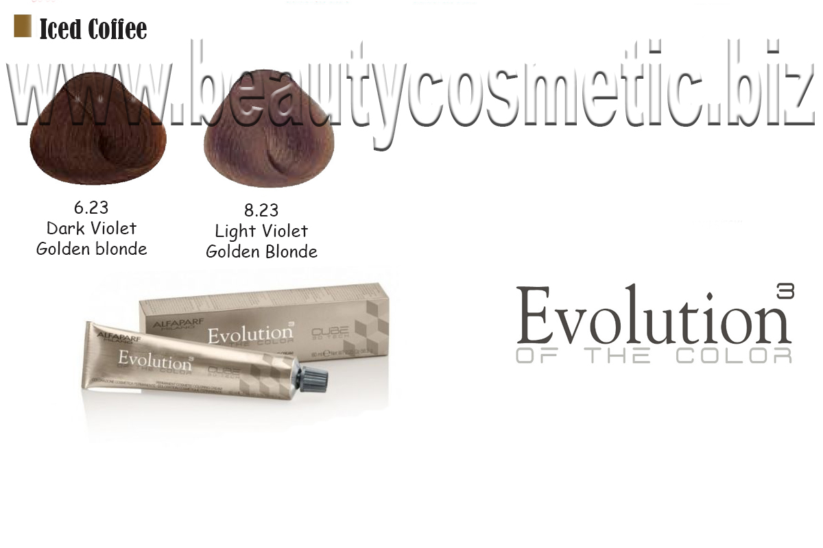 Alfaparf Evolution Iced Coffee Hair color with botox effect