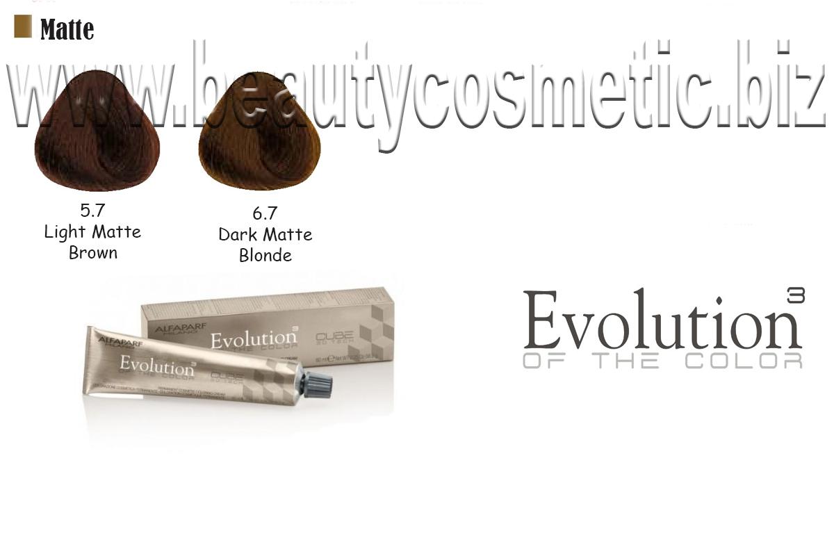 Alfaparf Evolution Matte Hair Color With Botox Effect