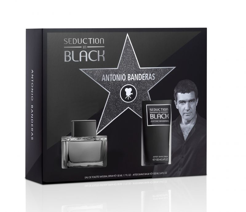 Antonio Banderas Seduction in Black set