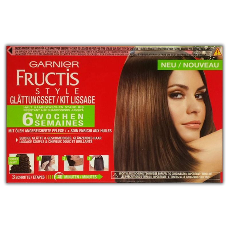Garnier Fructis Hair Straightening Cream normal