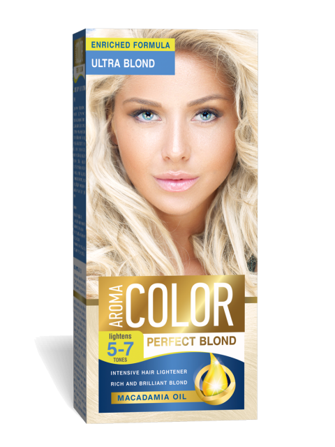 Aroma Color Ultra Blond Изсветлител за коса 5-7 тона