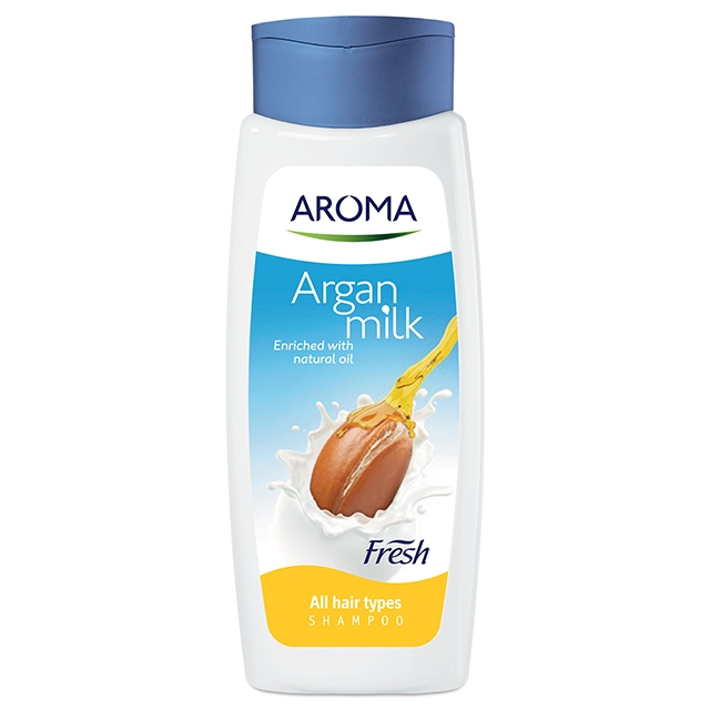 Aroma Fresh Milk and Argan Shampoo