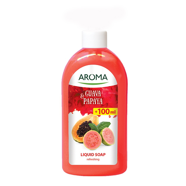 Aroma Guava & Papaya refreshing liquid soap 900ml