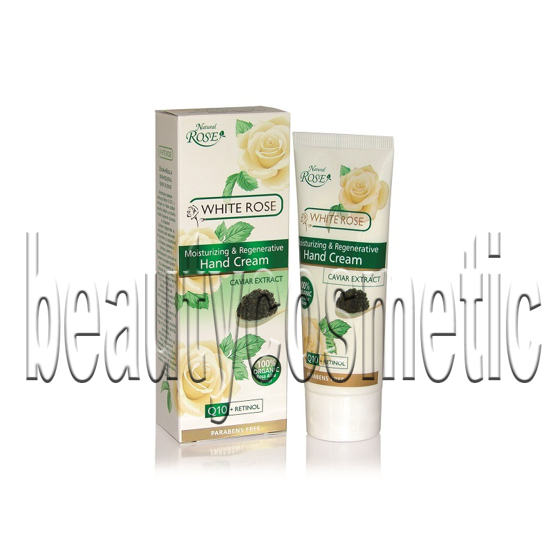 Natural Rose White Rose & Caviar Extract Hand Cream