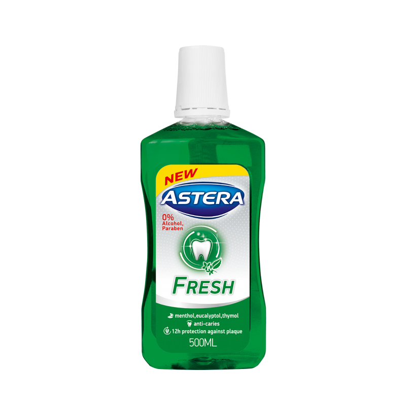 Astera Fresh Mouthwash 500ml