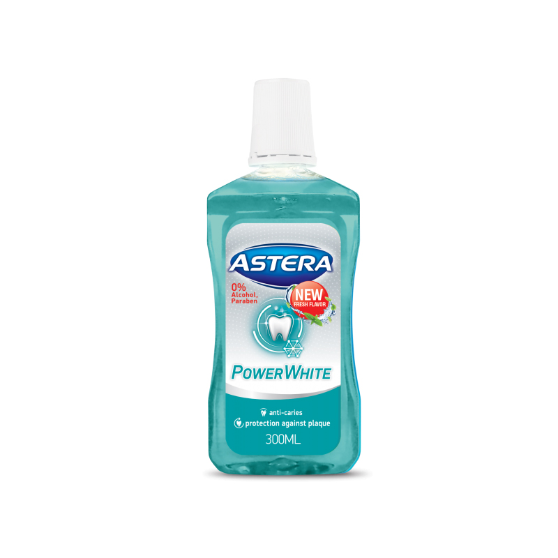 Astera Power White вода за уста 300ml