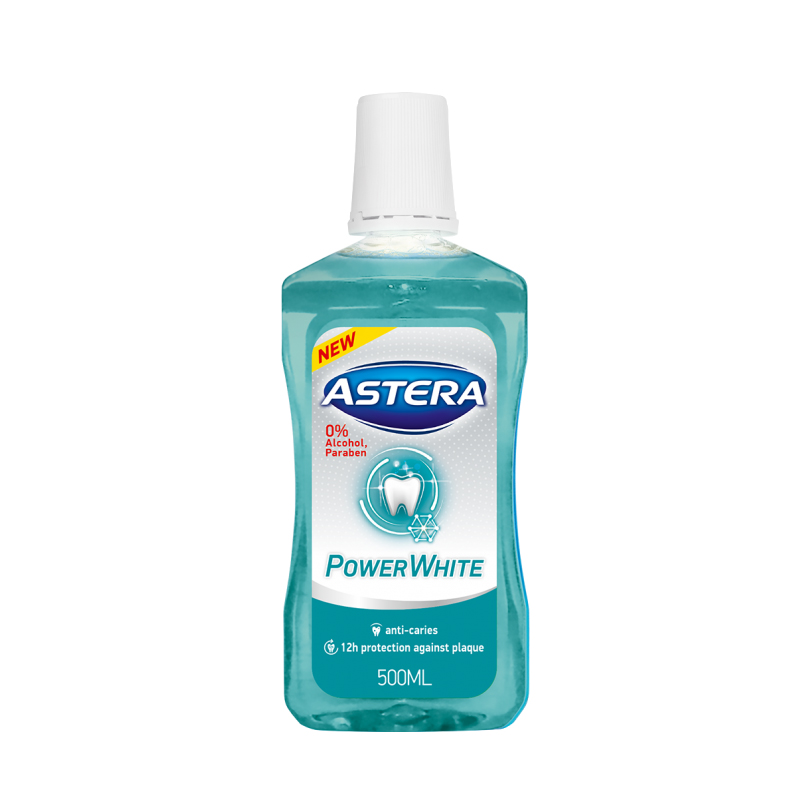 Astera Power White вода за уста 500ml