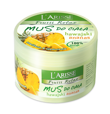 L'ARISS mousse body Hawaiian pineapple