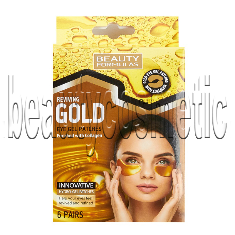 Beauty Formulas Gold gel пластири за околоочна зона