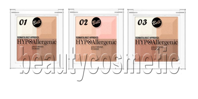 Bell hypoallergenic multi bronze powder