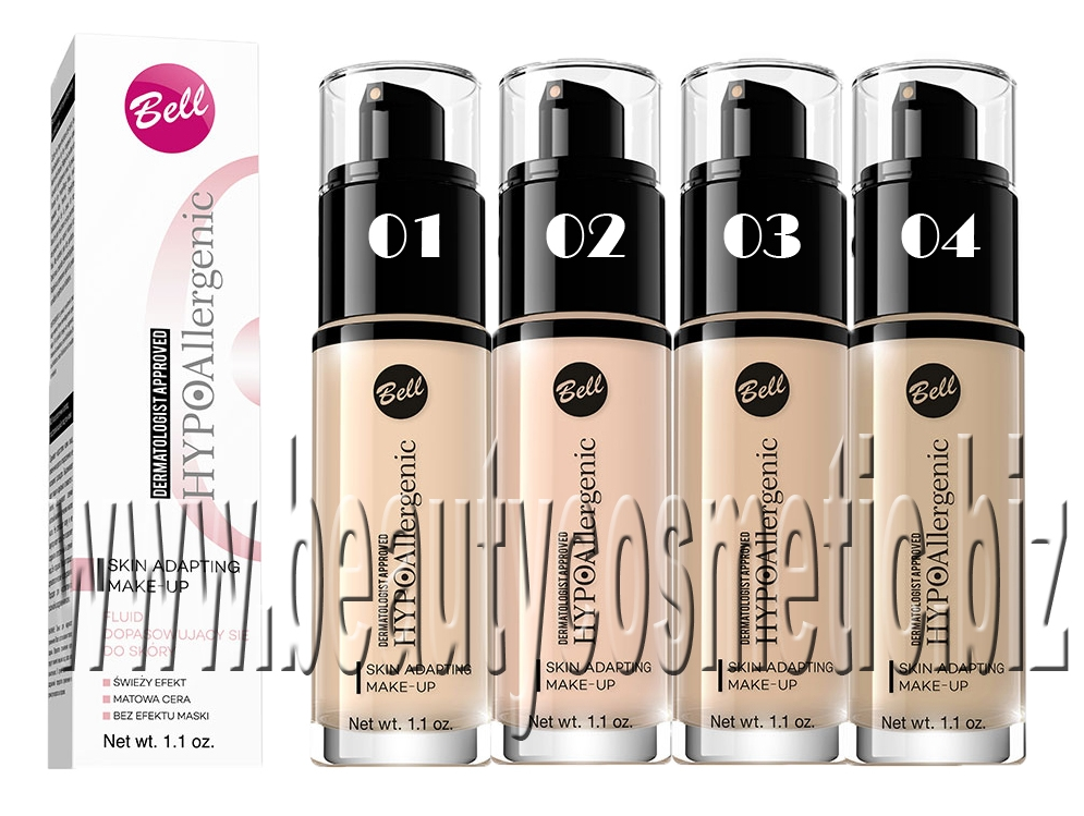 Bell HYPOAllergenic Skin Adapting Make-up
